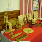 Display of Work - Woodcarvers.